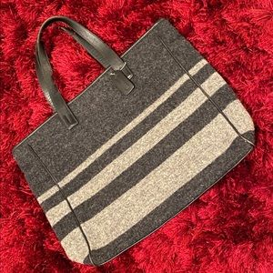 Authentic Coach Wool Tote